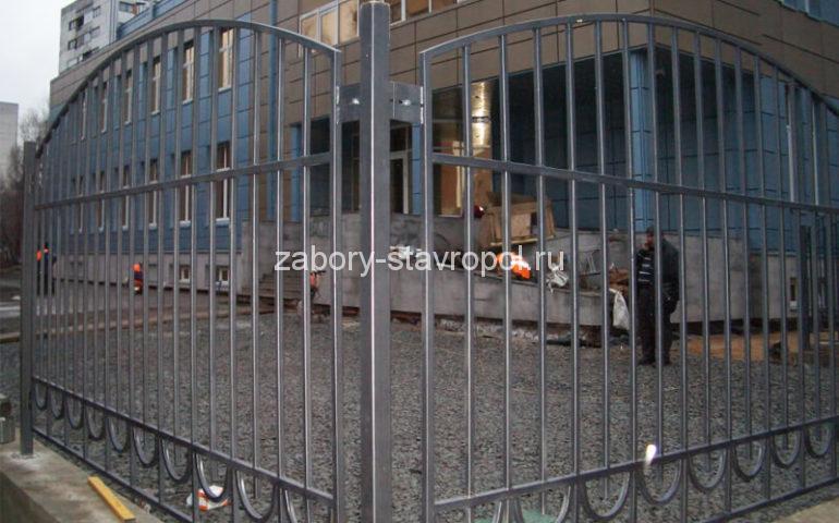 забор из профтрубы в Ставрополе